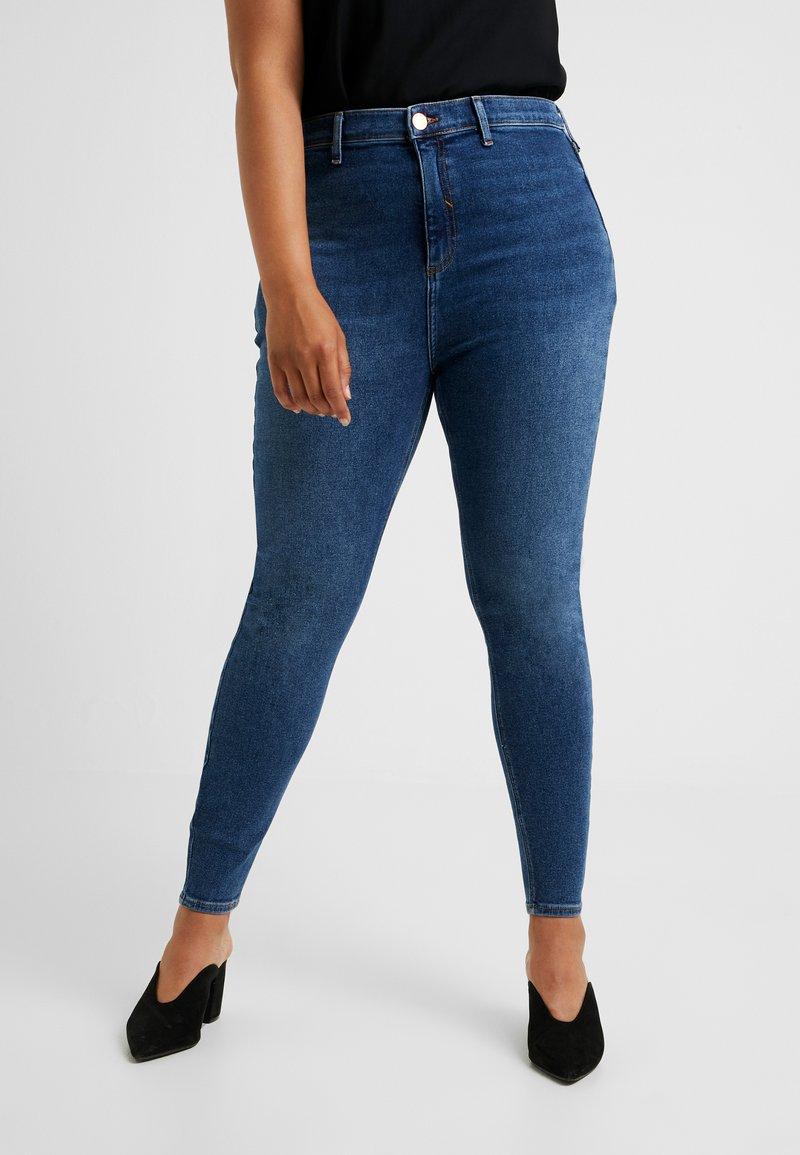 River Island Plus - Jeans Skinny Fit - blue