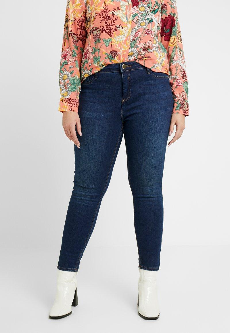 River Island Plus - MOLLY SANTA - Jeans Skinny - dark auth