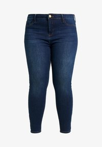 River Island Plus - MOLLY SANTA - Jeans Skinny - dark auth - 3
