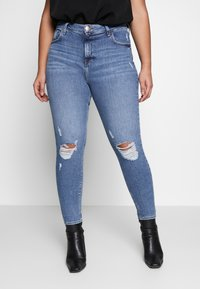 River Island Plus - Jeans Skinny Fit - dark-blue denim - 0