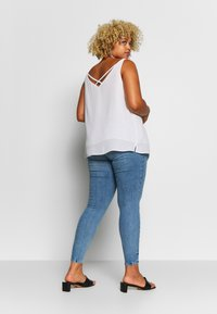 River Island Plus - Jeans Skinny - dark blue - 2