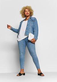 River Island Plus - Jeans Skinny - dark blue - 1