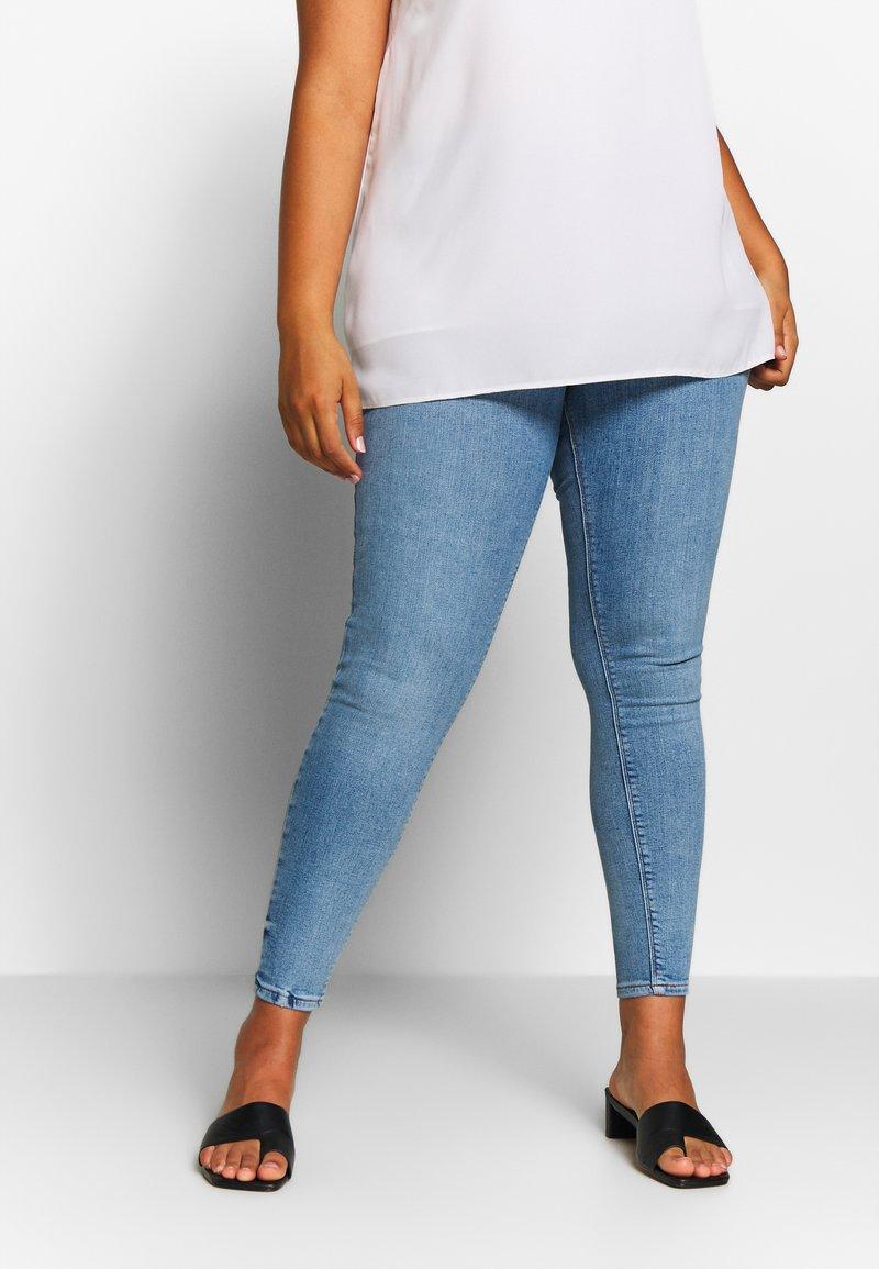 River Island Plus - Jeans Skinny - dark blue