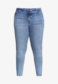 River Island Plus - Jeans Skinny - dark blue - 3