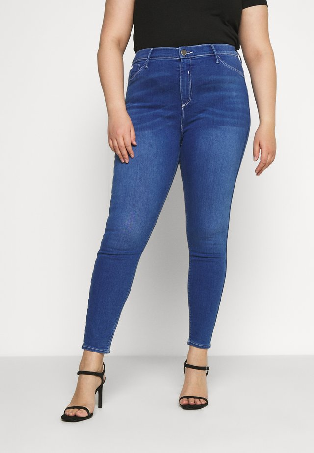 Jeansy Skinny Fit - denim bright