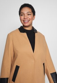 River Island Plus - Classic coat - camel - 3