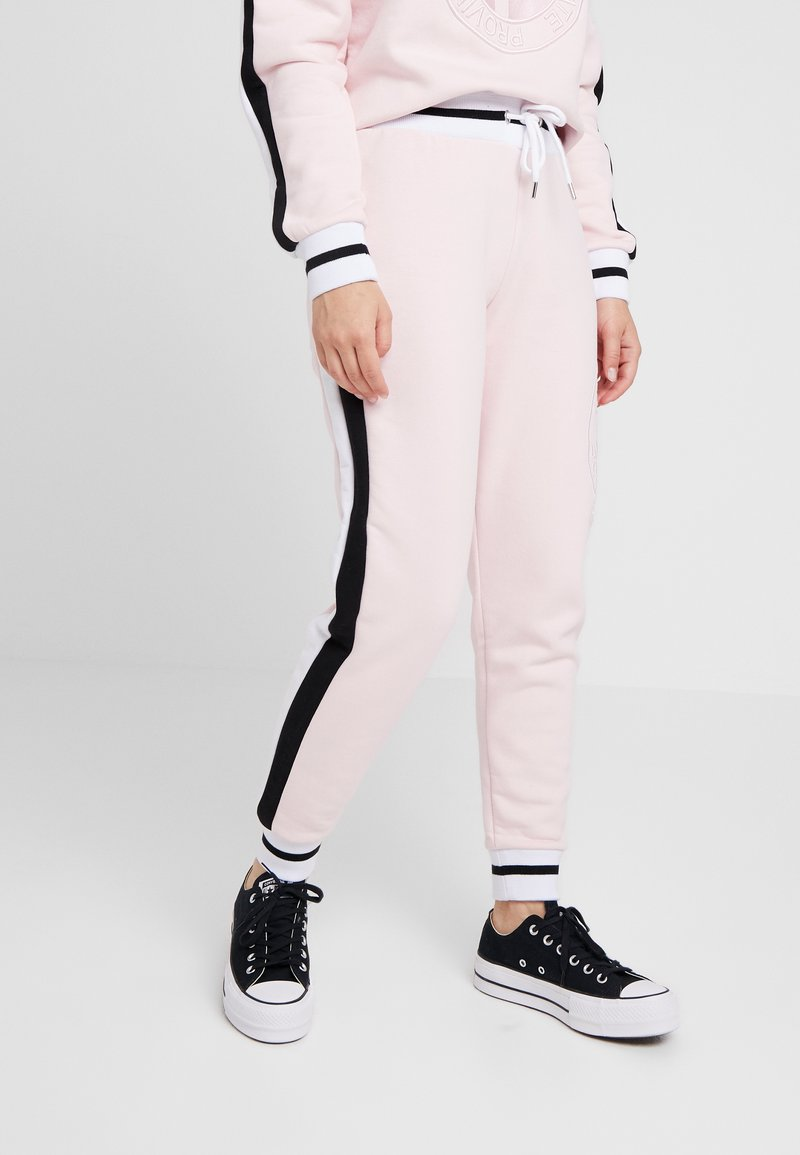 River Island Petite - EMBROIDERED - Jogginghose - pink
