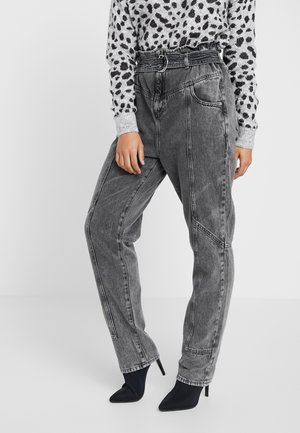 PAPERBAG UTILITY  - Jeansy Relaxed Fit - grey acid