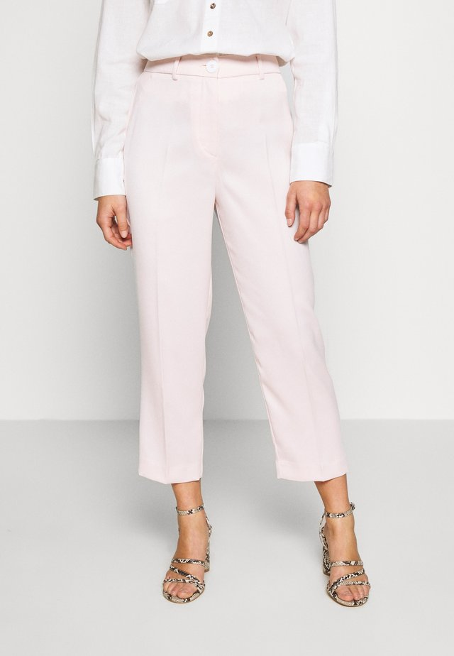 PETITE CLOVE CIGARETTE TROUSER - Broek - light pink