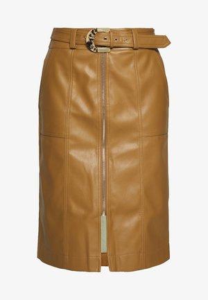 Áčková sukně - tan