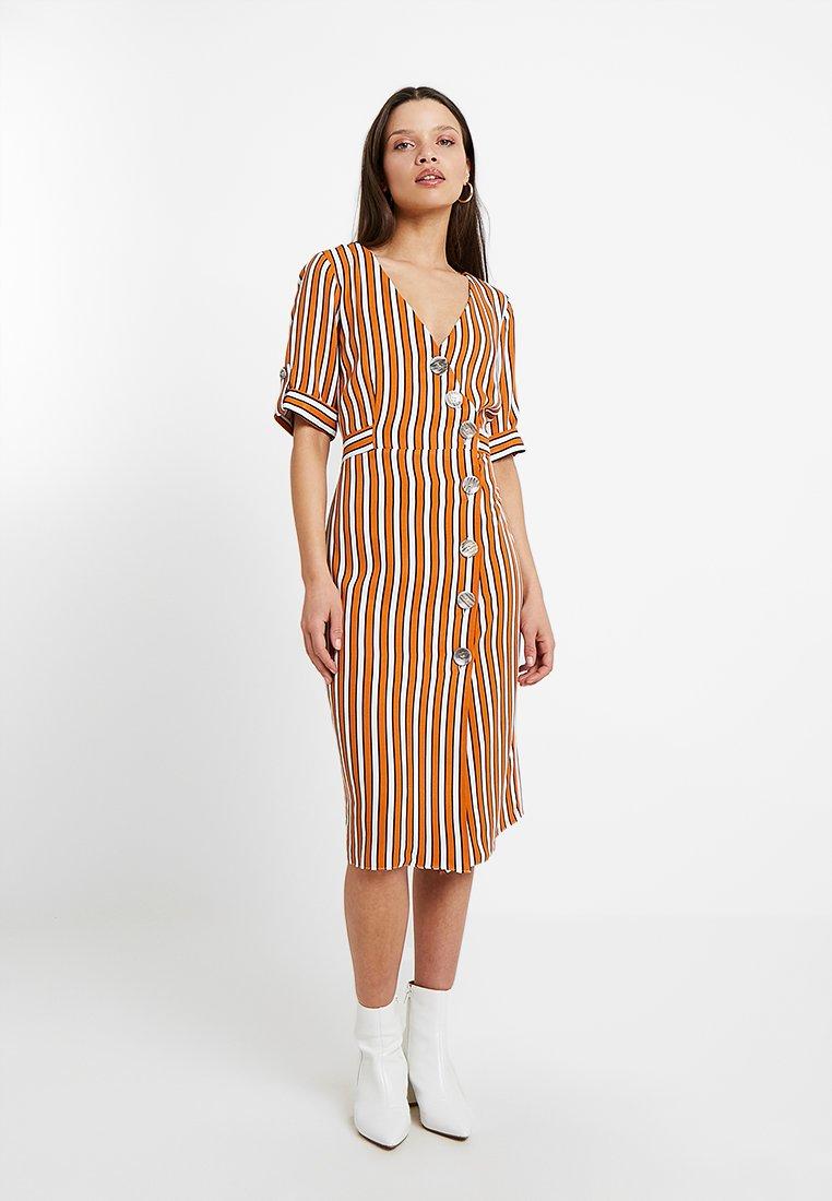 River Island Petite - Shirt dress - brown