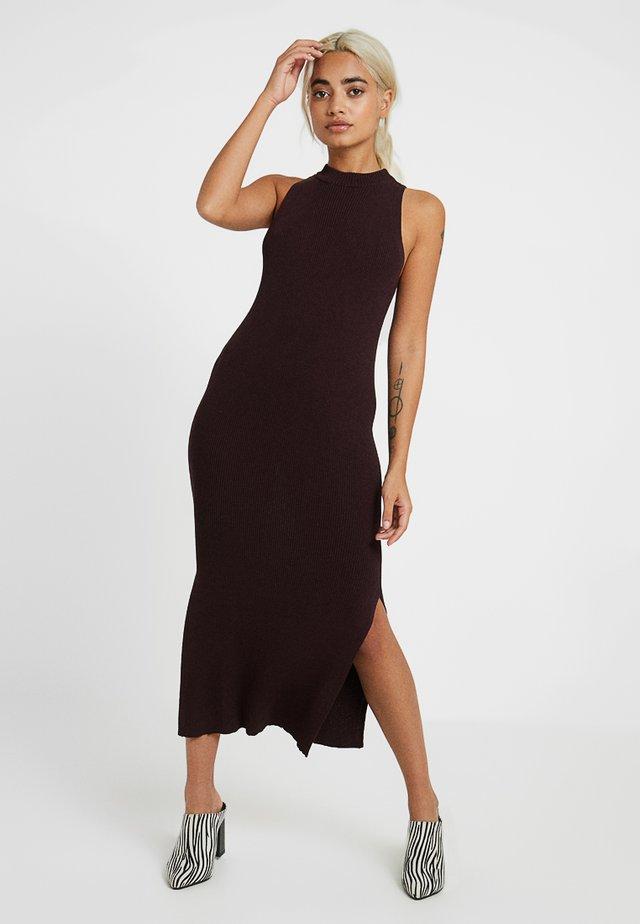 Maxiklänning - brown dark