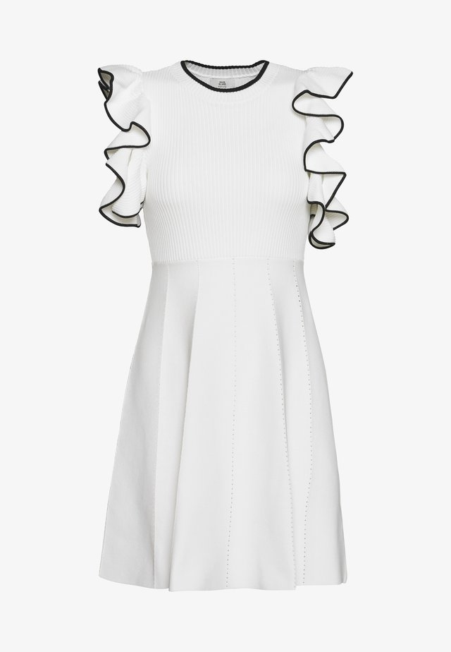 Jumper dress - white