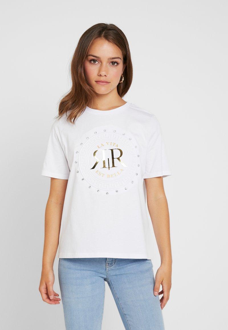 River Island Petite - T-Shirt print - white