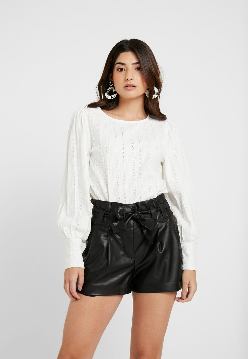 River Island Petite - Long sleeved top - white
