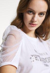 River Island Petite - T-shirts print - white - 3
