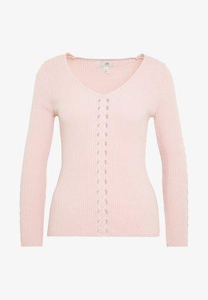 CASSIE - Trui - pink light