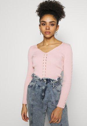 CASSIE - Strickpullover - pink light