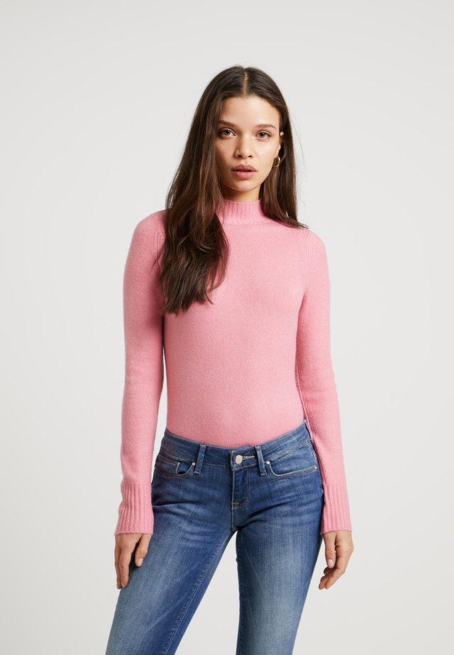 HANK V NECK - Jumper - pink