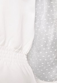 River Island Petite - SHIRRED HEM - Sweatshirts - white - 2