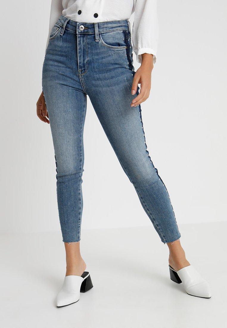 River Island Petite - Jeans Skinny Fit - midwash