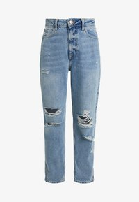 River Island Petite - Relaxed fit jeans - light blue denim - 3