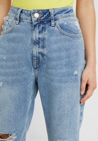 River Island Petite - Relaxed fit jeans - light blue denim - 4