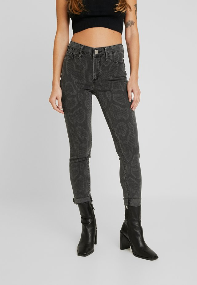 MOLLY PYTHON - Jeans Skinny Fit - grey
