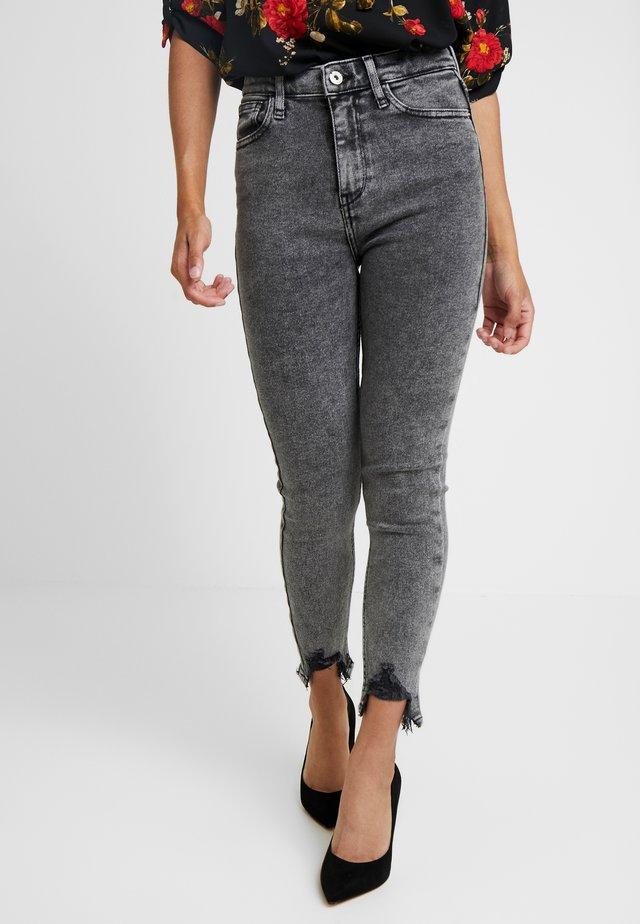 Jeansy Skinny Fit - grey
