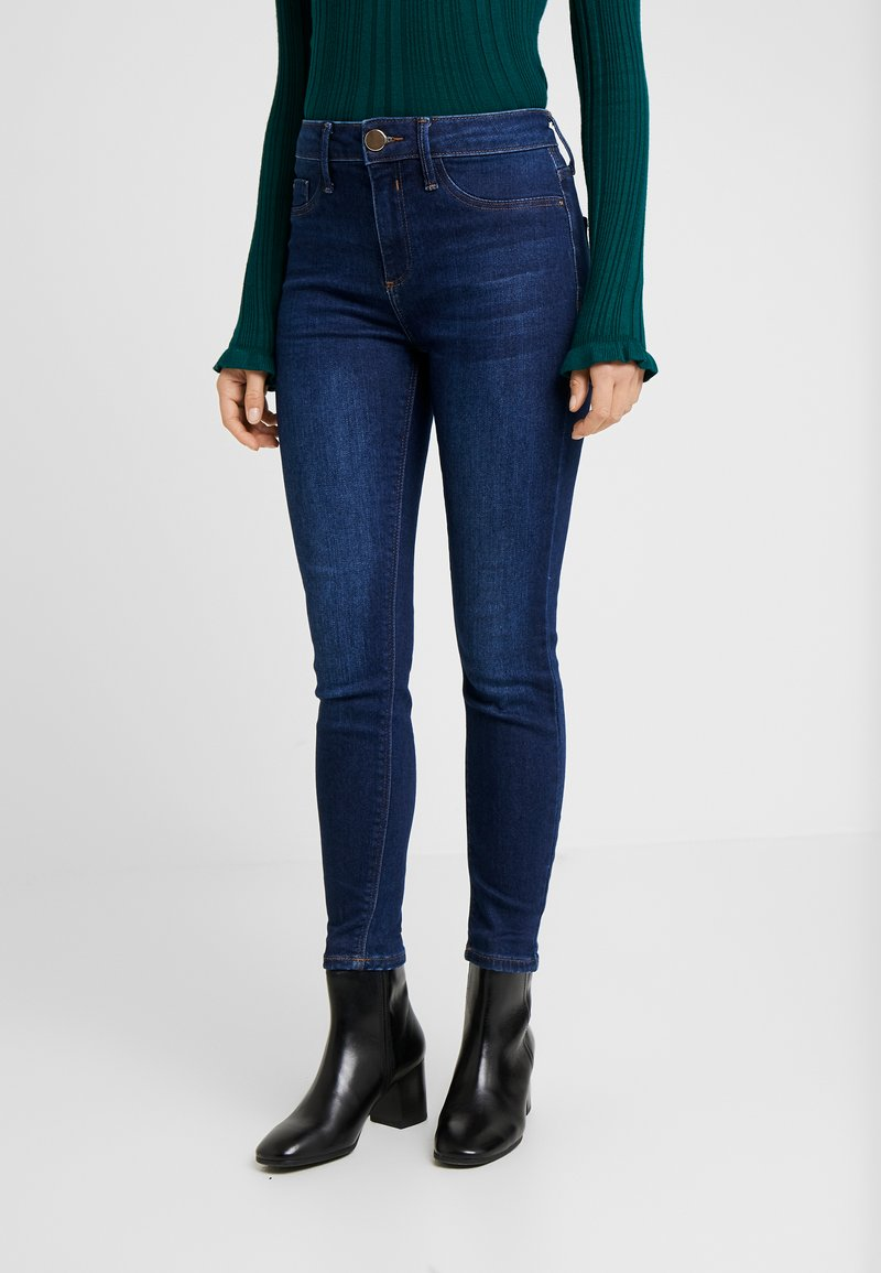 River Island Petite - PETITE MOLLY SANTA - Jeans Skinny - blue