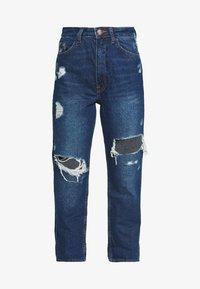 River Island Petite - MOM SHEERAN - Jeans Straight Leg - mid auth - 4