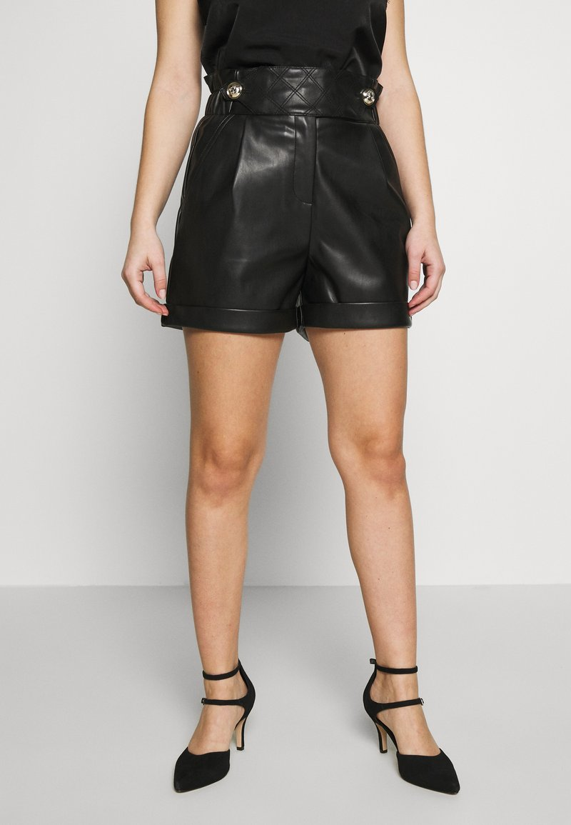 River Island Petite - MOM - Shorts - black