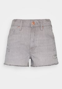 River Island Petite - HANNAH SHORTACID - Shorts vaqueros - acid wash grey - 0