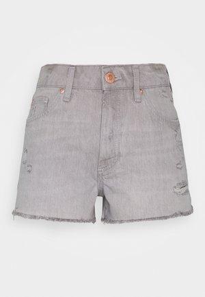 HANNAH SHORTACID - Shorts di jeans - acid wash grey