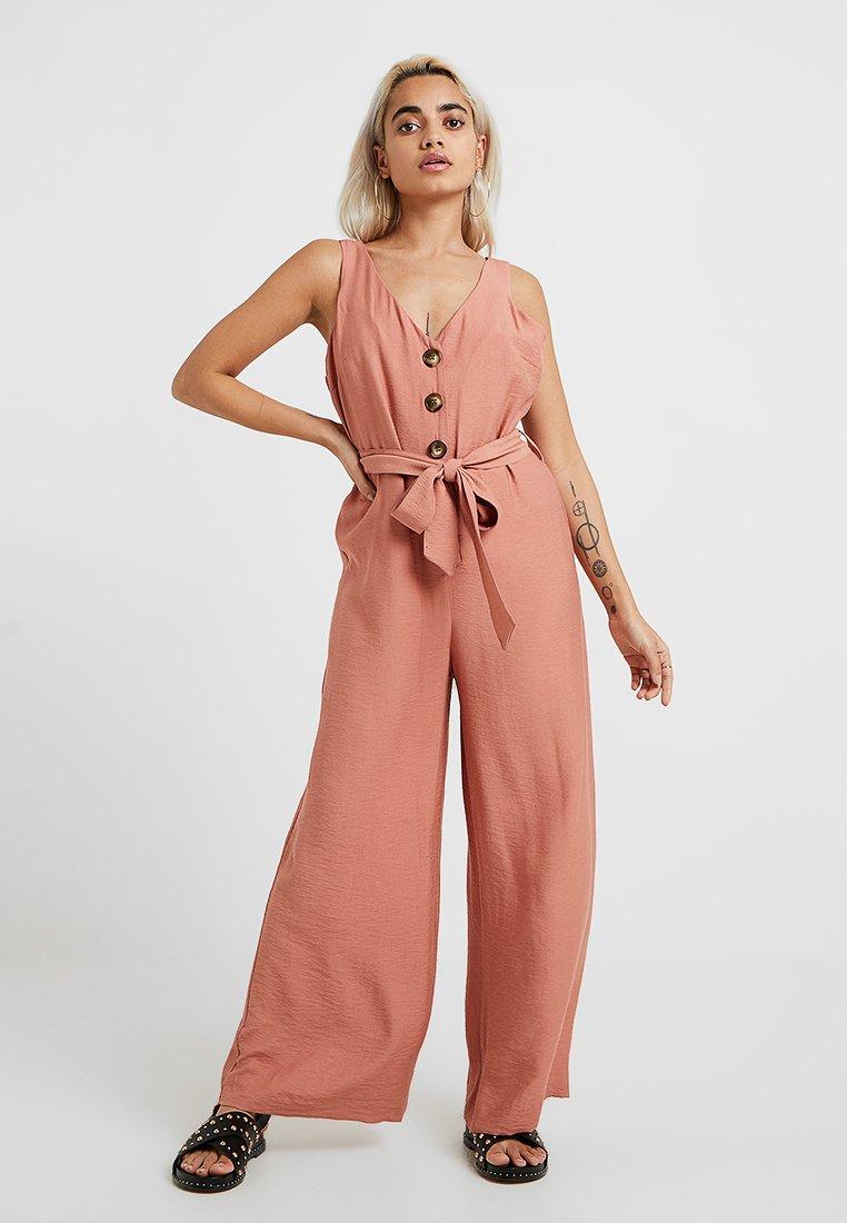 River Island Petite - Overall / Jumpsuit /Buksedragter - pink dark
