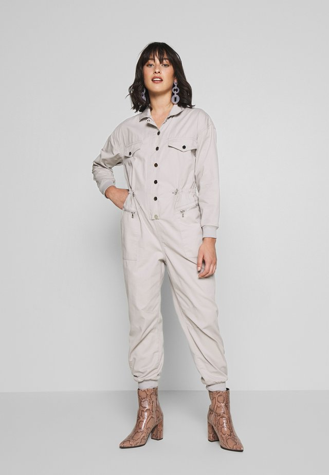BROOKE BOILERSUIT - Overall / Jumpsuit /Buksedragter - grey