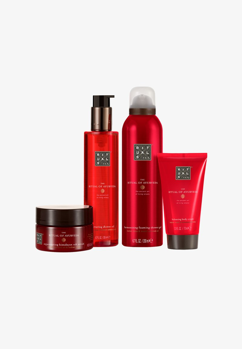 Rituals - THE RITUAL OF AYURVEDA - BALANCING RITUAL M - Bath and body set - -