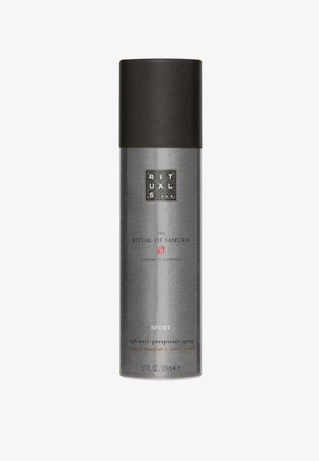 THE RITUAL OF SAMURAI ANTI-PERSPIRANT SPRAY SPORT 24H-ANTITRANSPIRANT-SPRAY - Deodorant - -