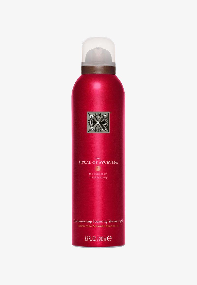 Rituals - THE RITUAL OF AYURVEDA FOAMING SHOWER GEL 200ML - Shower gel - -