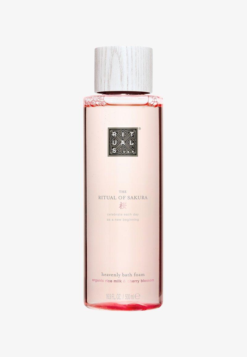 Rituals - THE RITUAL OF SAKURA BATH FOAM  - Shower gel - -