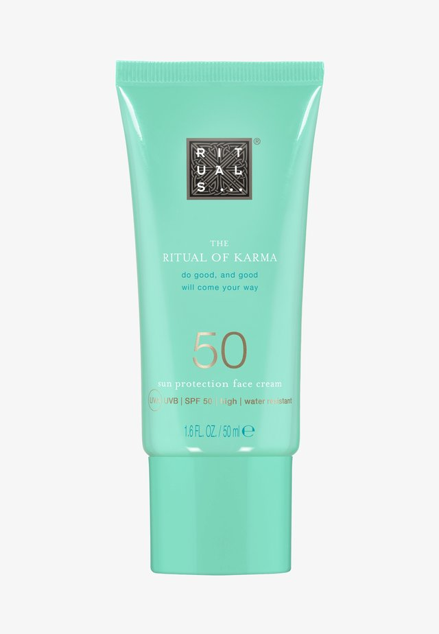 THE RITUAL OF KARMA SUN PROTECTION FACE CREAM SPF 50 - Sun protection - -