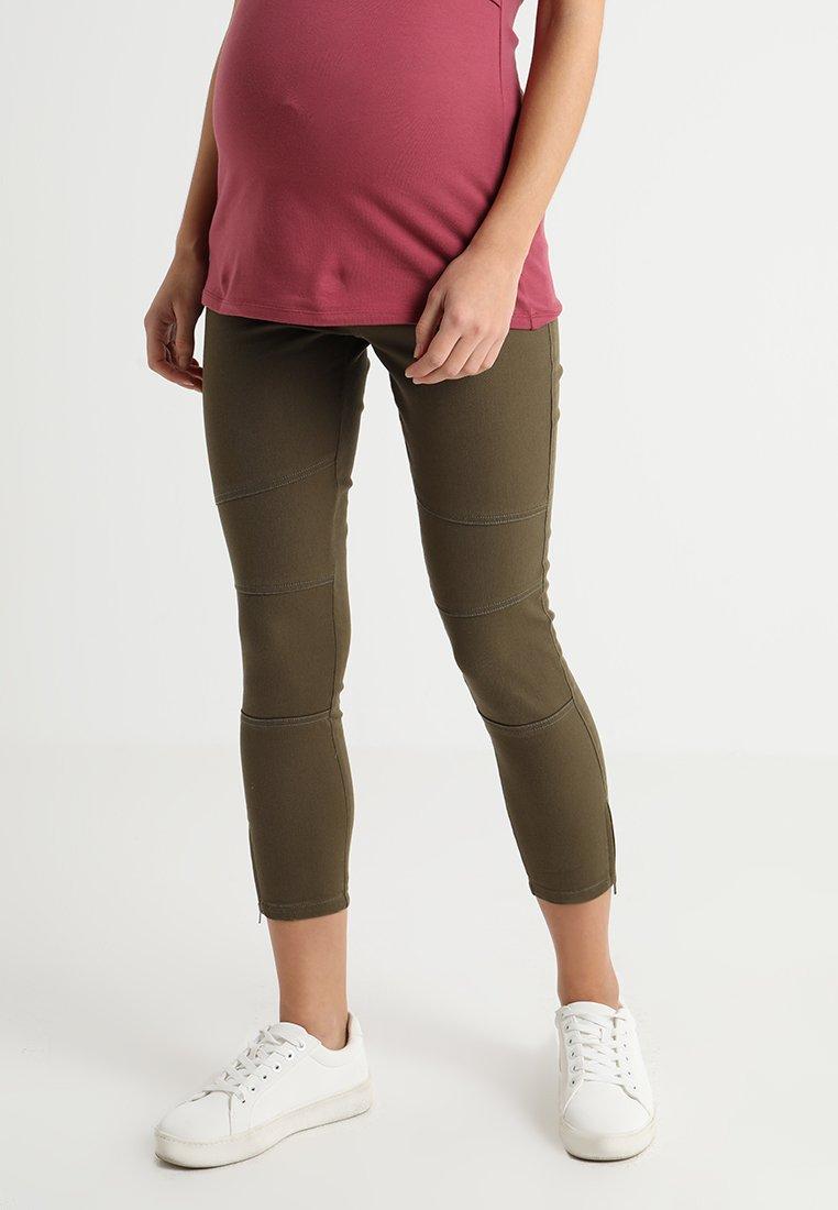 Ripe - ISLA BIKER GRAZER - Jeans Skinny Fit - pickle green
