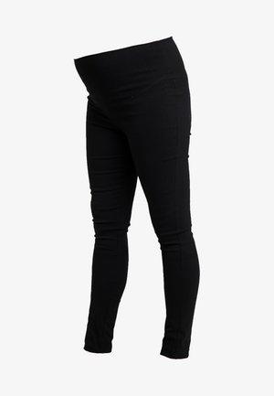 SUZIE SUPER PANT - Tygbyxor - black