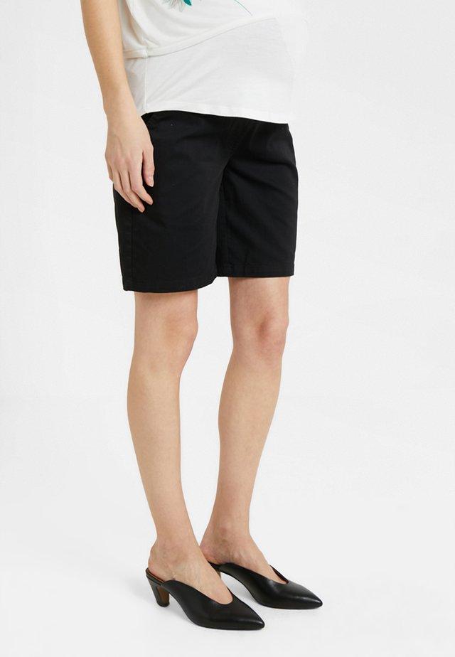 CLASSIC TWILL - Shorts - black