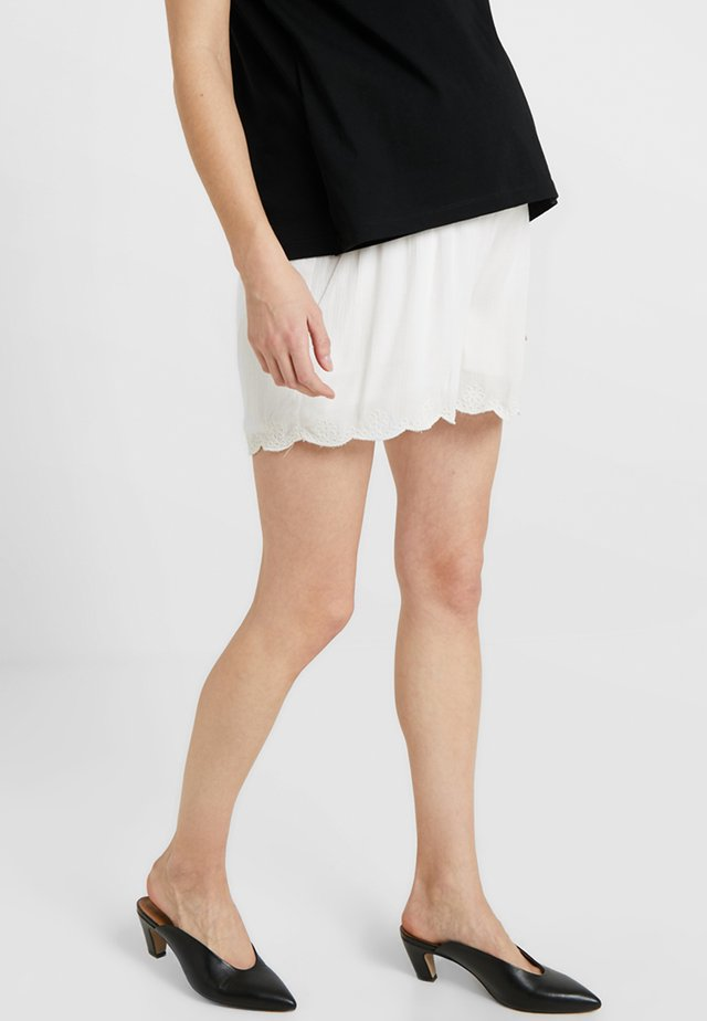 EMBROIDERED - Shortsit - ivory
