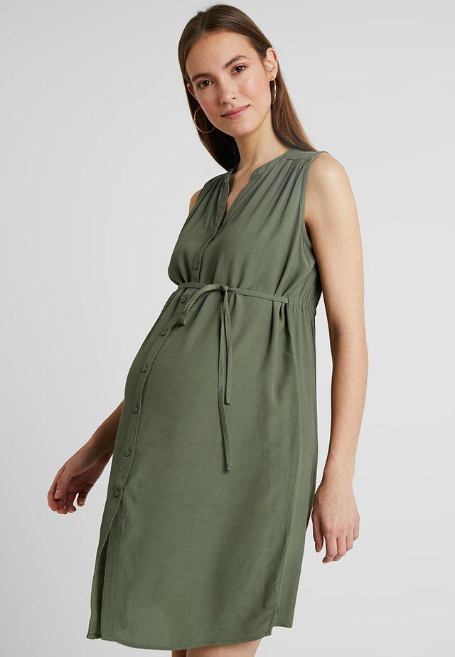 APRIL DRESS - Kjole - khaki