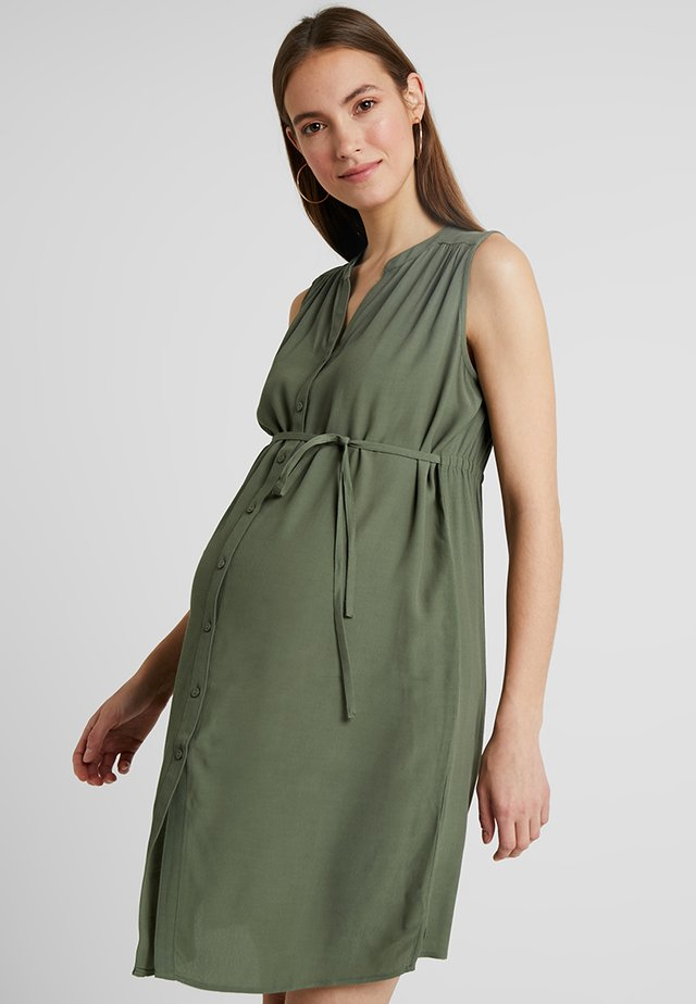 APRIL DRESS - Sukienka letnia - khaki