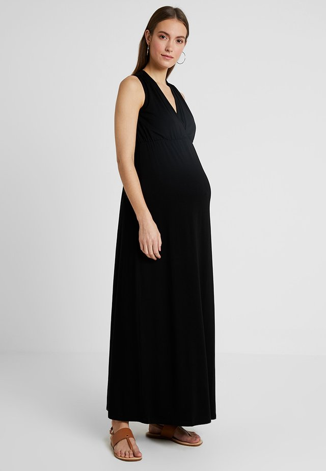 VIRTUE NURSING DRESS - Maxi dress - black