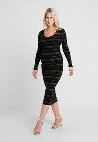 Ripe - JENNA DRESS - Fodralklänning - black/olive - 2