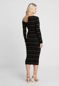 Ripe - JENNA DRESS - Fodralklänning - black/olive - 3